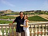 Brooke and boyfriend at Domain Carneros